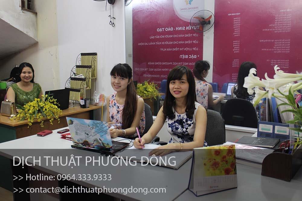 Tuyển dụng 20 phiên dịch viên tiếng Hàn tại Hà Nội